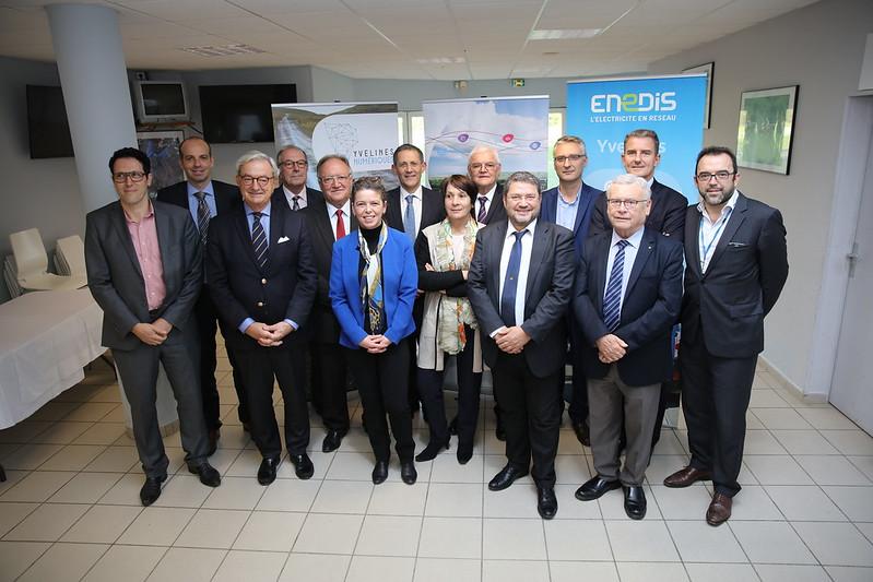 Signature avec TDF – Présentation du plan de déploiement du Très Haut Débit dans 158 communes des Yvelines
