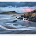 Whitesands Bay at Dusk by mistymornings99