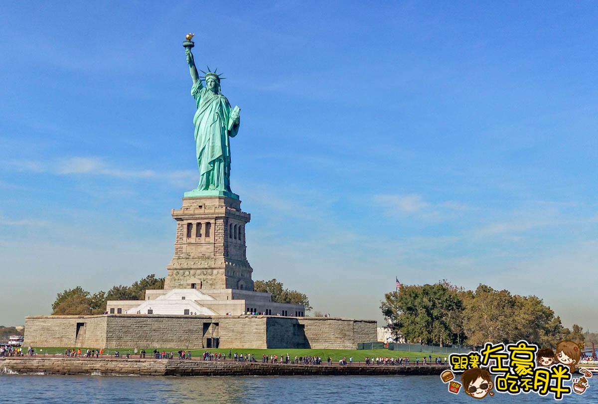 美國紐約遊船觀賞自由女神像4