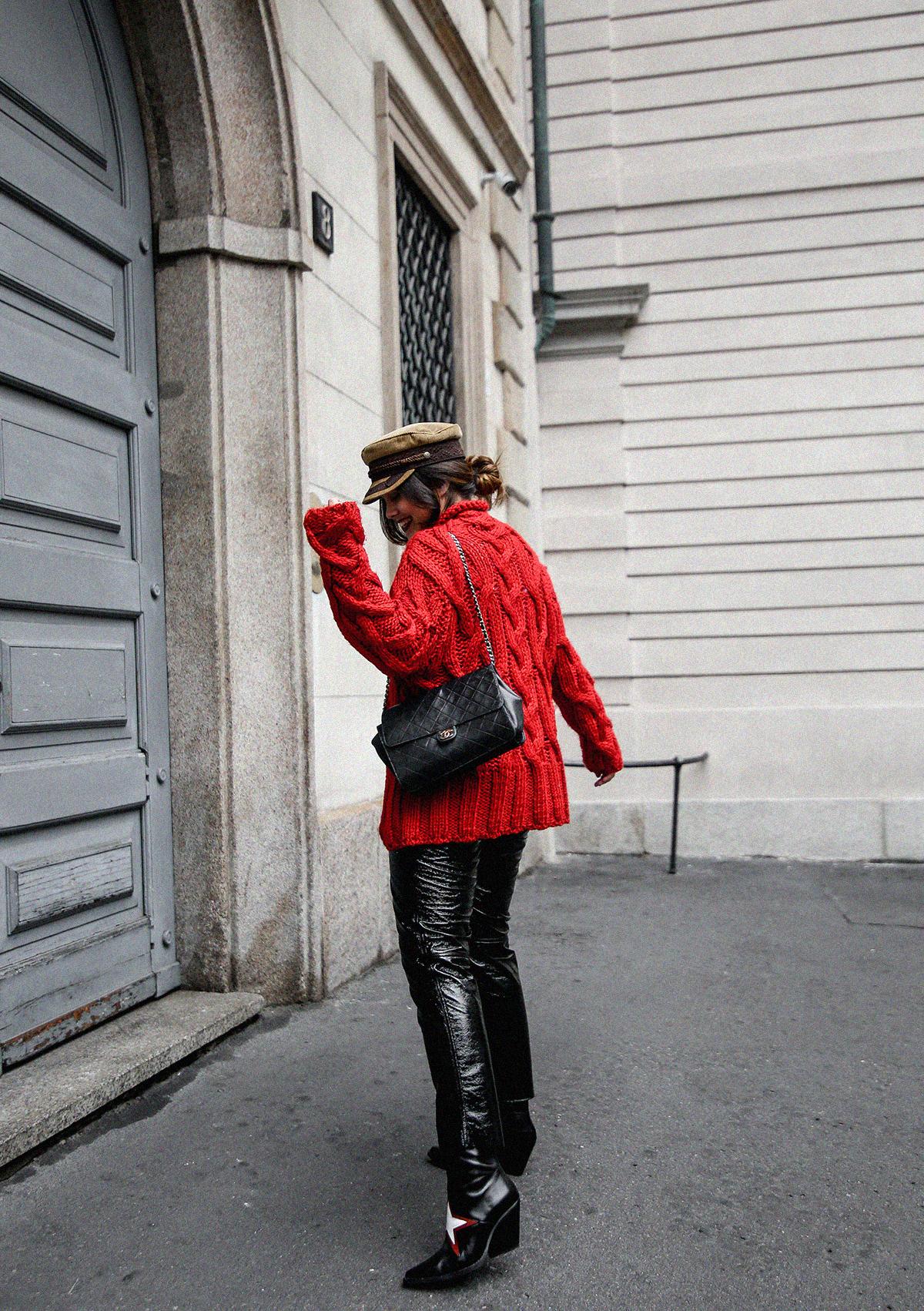 pantalones de charol look myblueberrynightsblog10