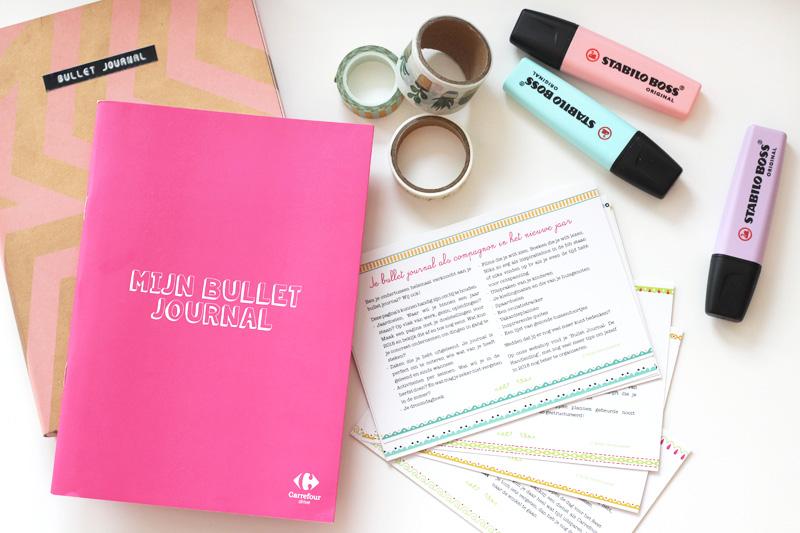 Bullet Journal Carrefour Belgium