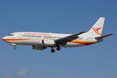 """PZ-TCQ   Boeing 737-3Q8   Surinam Airways """"Goudenregen"""""""