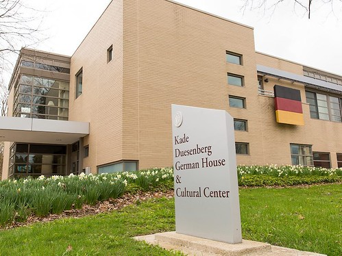 In honor of our University Chorale departing for Germany to perform for the 500th anniversary of the Reformation, we wanted to highlight another strong tie we have at the University to the German culture: The Kade-Duesenberg German House and Cultural Cent