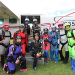 Midwest Freefall Sisters In Skydiving RW: State Record Attempt