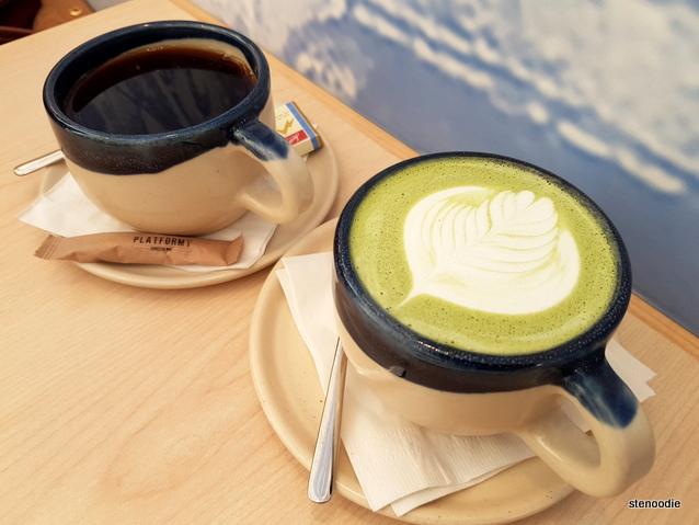 Platform Espresso Bar mugs