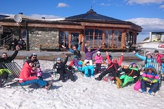Jarní prázdniny na lyžích s dětmi, Nassfeld