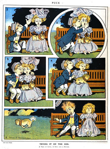 trying it on the dog (1906)