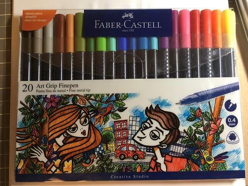 Faber Castell Art Grip Finepen set of 20 from Peru