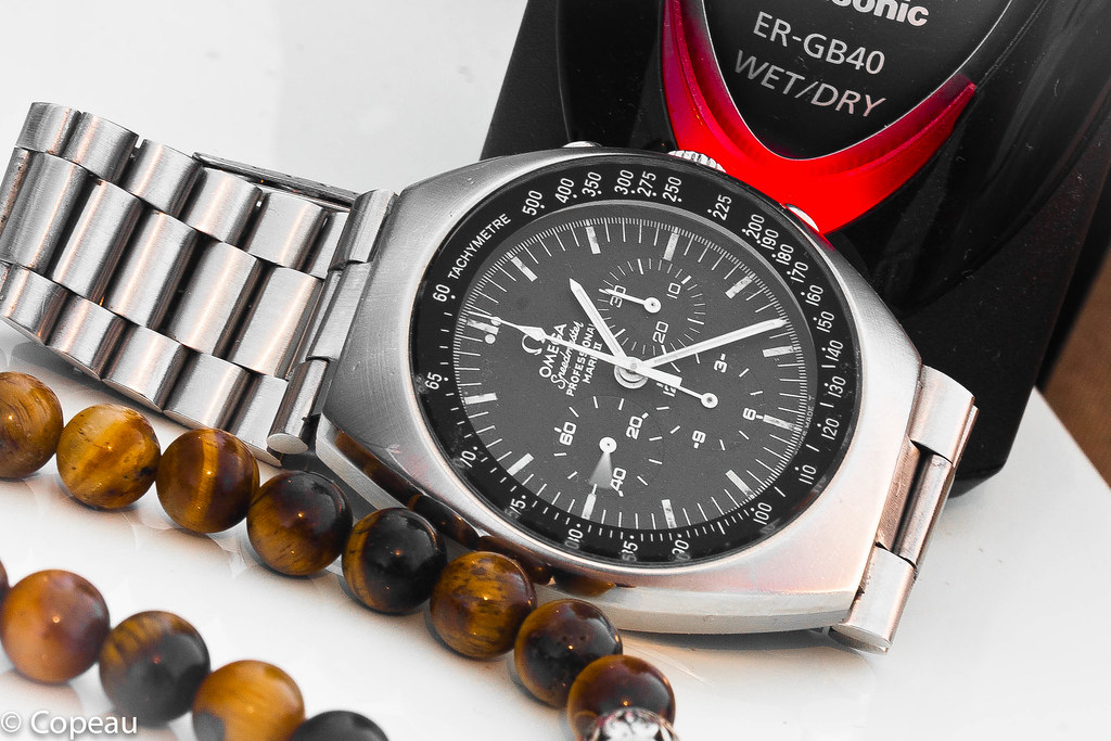 """[1969-75] ST 145.014 - Omega Speedmaster mark II, """"the eagle could have landed"""" 36878798113_e6c654a3be_b"""