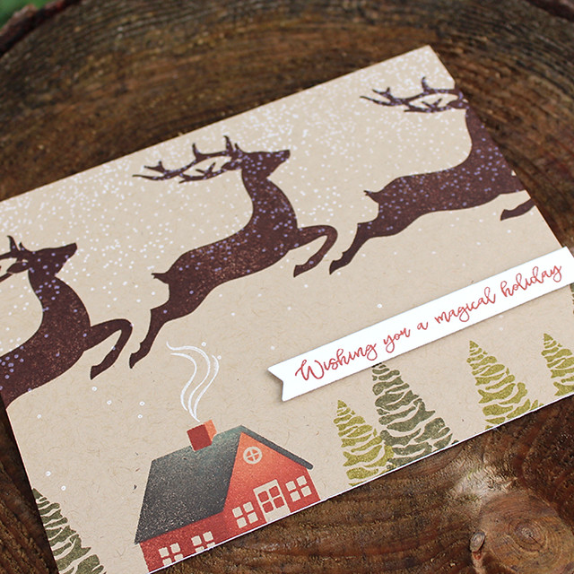Magical Holiday Card 4