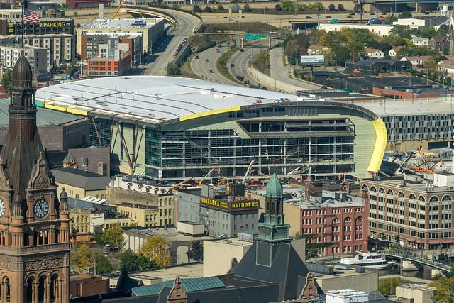 Milwaukee Bucks Arena taking shape quickly