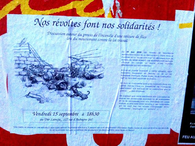nos revoltes font nos solidarités