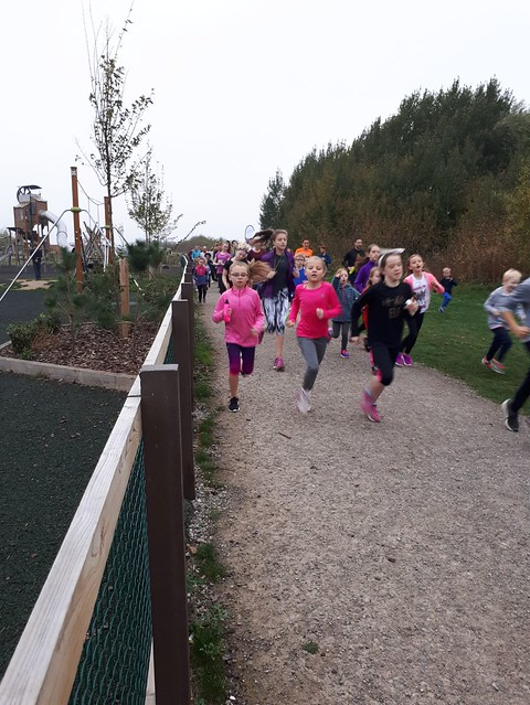 Gedling junior parkrun 15th October 2017