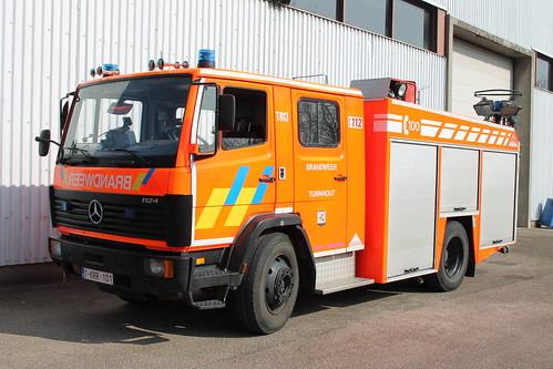 Autopomp T813 Brandweer Turnhout
