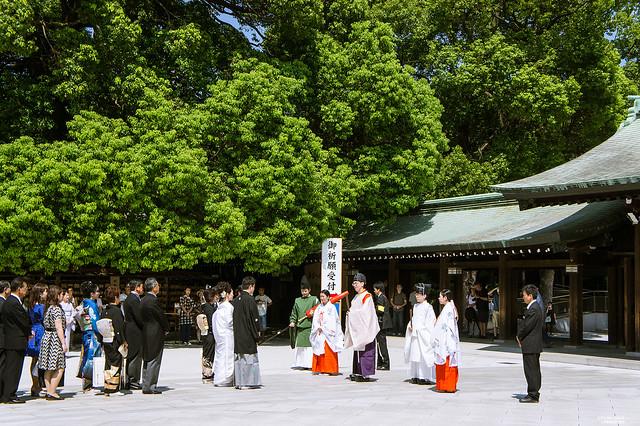 明治神宮 日本婚禮