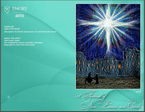 church art covers for carol services stushie art