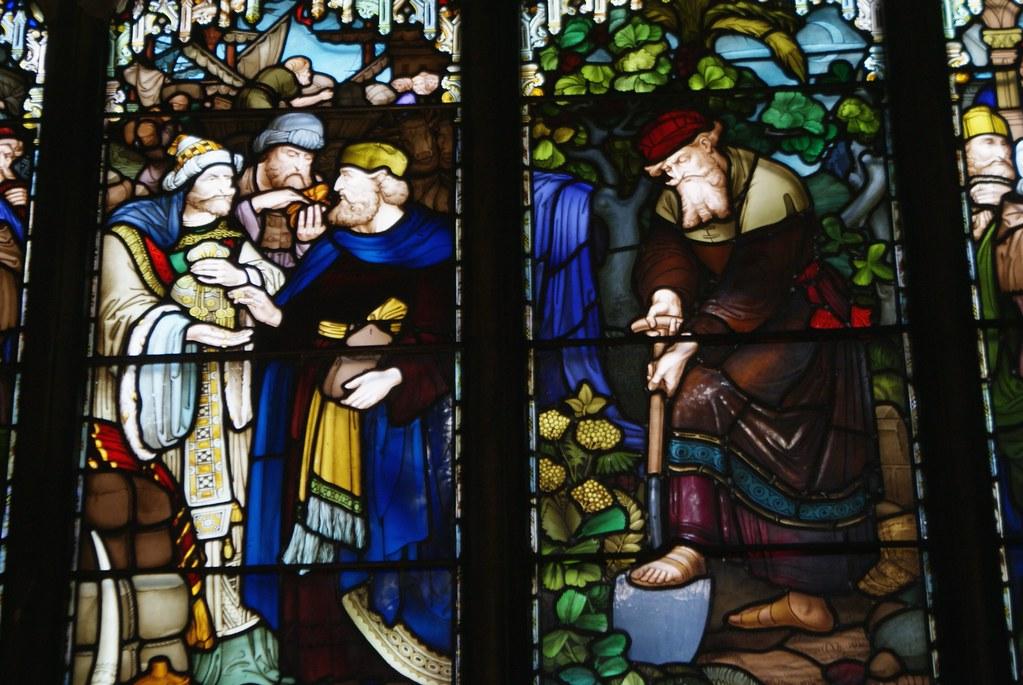 Vitraux de la cathédrale Saint Guy à Edimbourg.