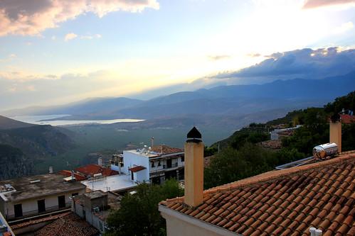 greece delphi geotagged parnassusmountains mountains clouds panorama