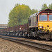 66140 DB Cargo Lackenby to Scunthorpe 6D37 at Moorhouse 24092017_9240026
