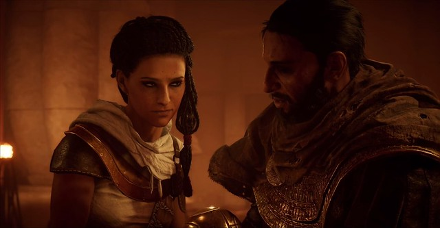 Assassin's Creed Origins - Bayek and Aya