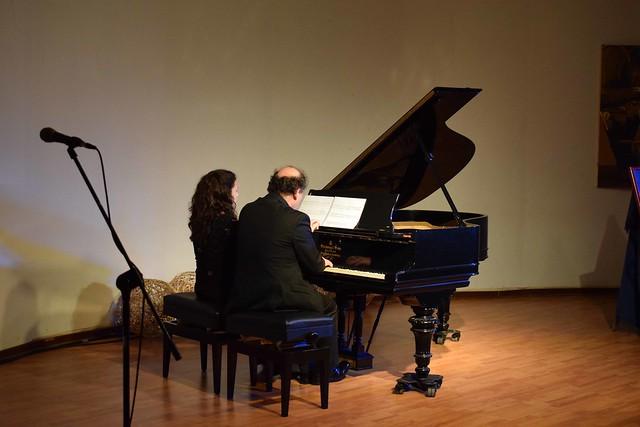 """Concierto de piano """"A Cuatro Manos"""""""