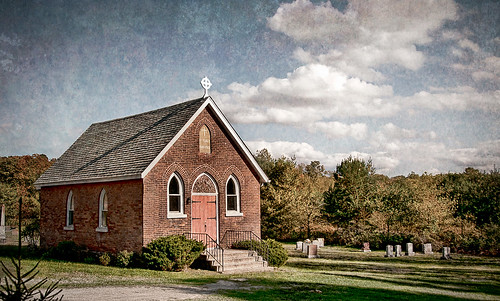 huntsville muskoka ontario canada church anglican country landscape nikon d300 nik clouds texture cemetary chapel cross sky graveyard grave knarrgallery darylknarr knarrphotography