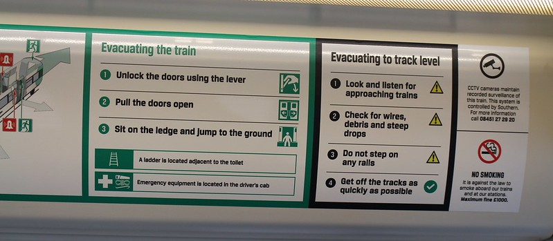 Southern Rail: How to evacuate a train