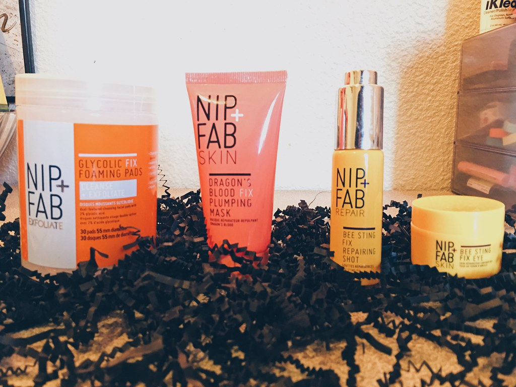 My Fall Night Skincare Routine with Nip + Fab