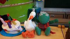 k2: kikker en eend zijn jarig