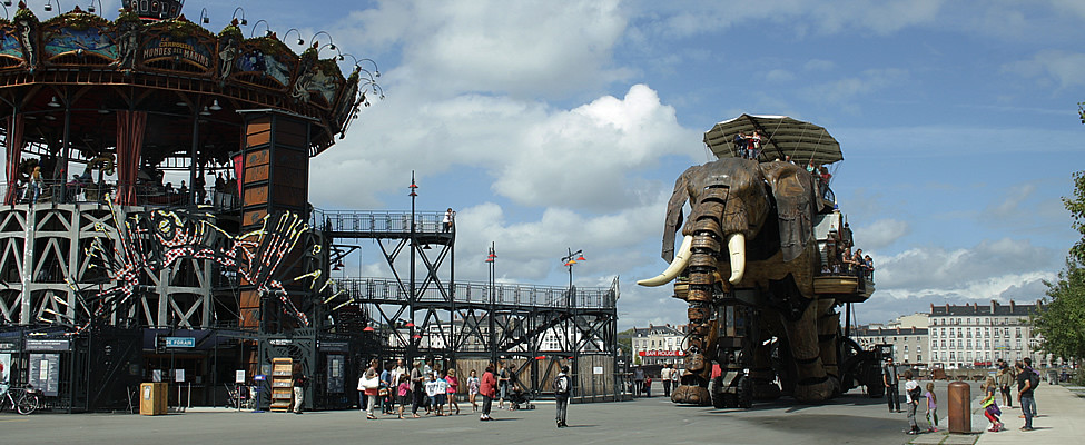 Stedentrip Nantes: bezienswaardigheden Nantes, Frankrijk | Mooistestedentrips.nl