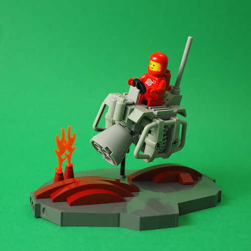 Classic Space Speeder Rover
