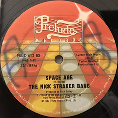THE NICK STRAKER BAND:A LITTLE BIT OF JAZZ(LABEL SIDE-B)