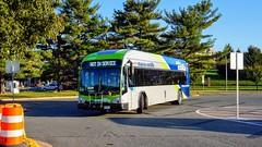 Montgomery County Transit Ride On extRa 2017 Gillig Low Floor BRT Plus Diesel #44060D