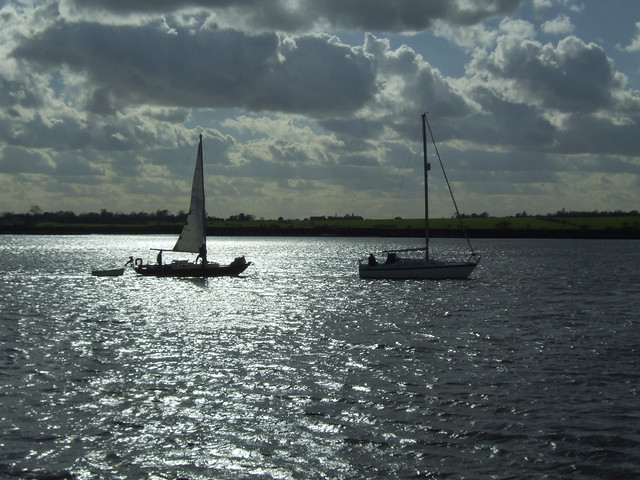 The River Crouch near Creeksea
