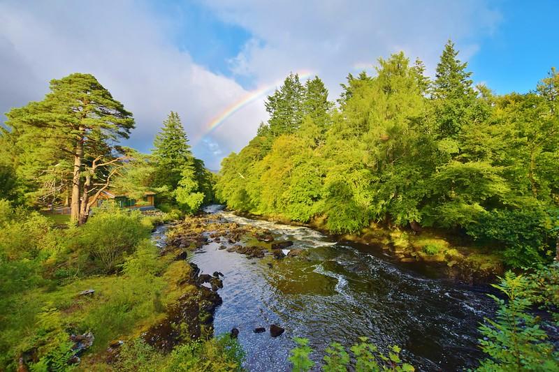 Falls of Dochart Loch Lomond and the Trossachs National Park