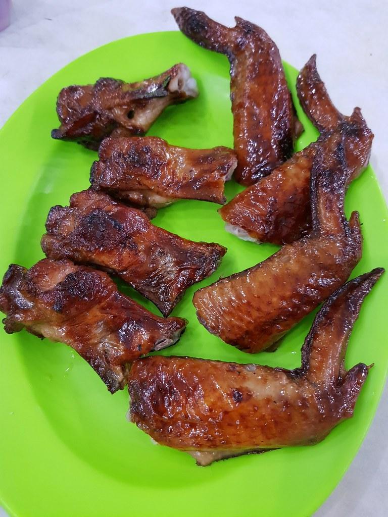 燒雞翅 Fried Chicken Wings $2.70/pc @ Kedai Kopi Nanking (南京茶餐室) USJ10