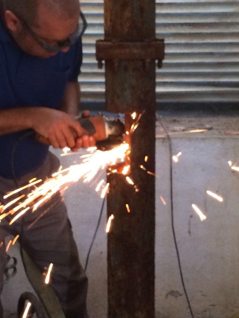 Reparada la bomba del pozo de la Plaza de la Concordia