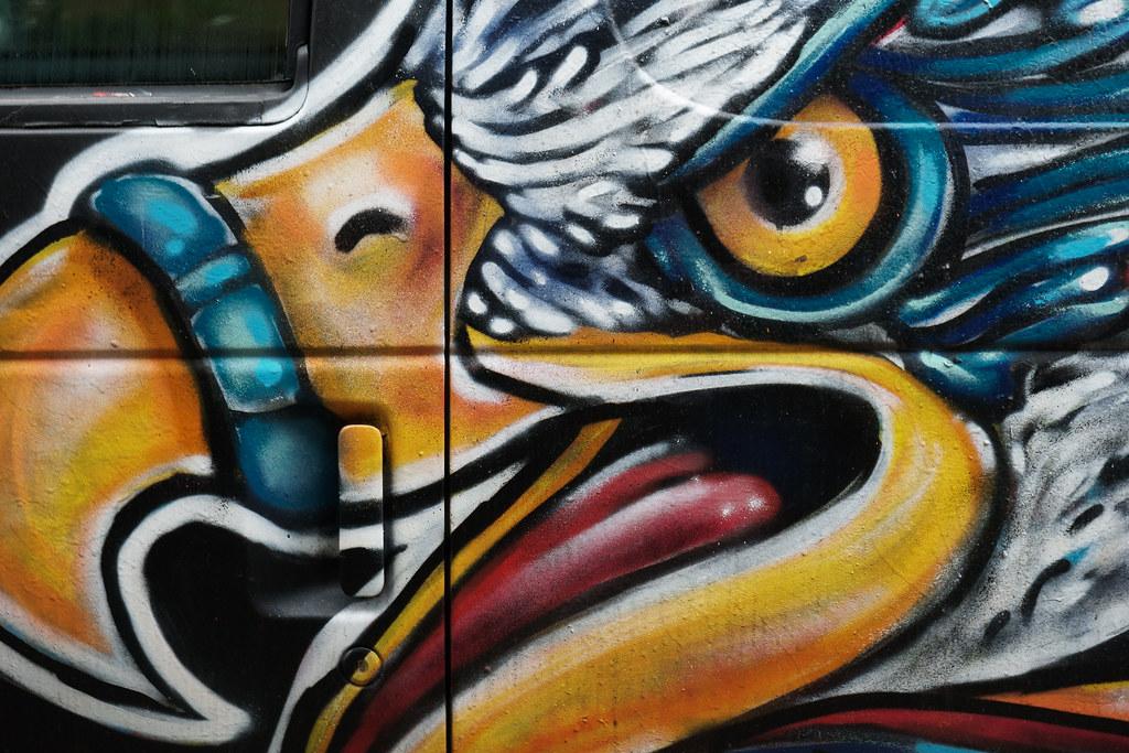 The Bird Van of Irvington