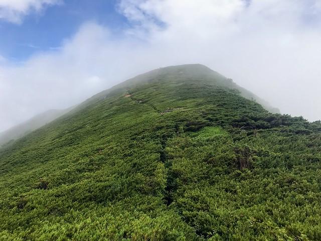 乗鞍岳 平湯・乗鞍新登山道 硫黄岳