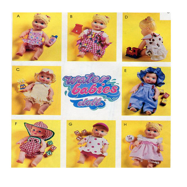 McCalls 6368 water babies clothing