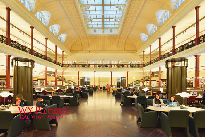 Melbourne 2017:  State LIbrary Of Victoria Redmond Barry Reading Room 1