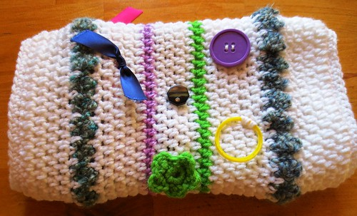 Crocheted Twiddle Muff