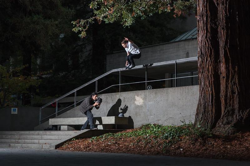Michael Braud / Gap Over Rail to Bank / Berkeley