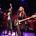 Thu, 14/09/2017 - 6:09am - The Lone Bellow (Zach Williams; Kanene Donehey Pipkin; Brian Elmquist) perform for WFUV Public Radio at Rockwood Music Hall in New York City, 9/14/17. Hosted by Rita Houston. Photo by Gus Philippas/WFUV