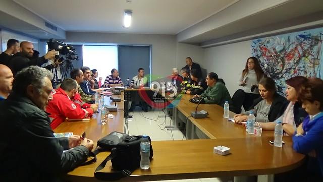 Συνεδρίασε συντονιστικού πολιτικής προστασίας δήμου Τρίπολης