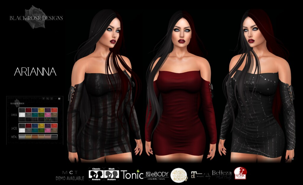 [[BR]] ARIANNA DRESS @ MAD CIRCUS 3 - TeleportHub.com Live!