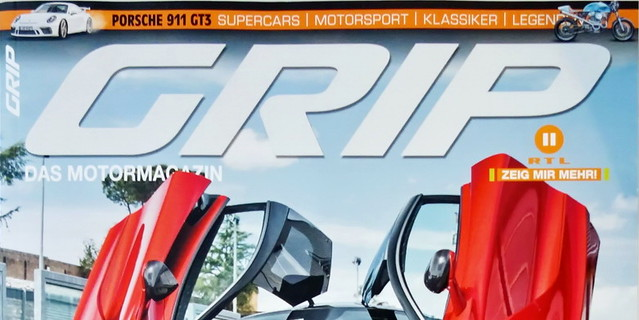 Image of GRIP - Das Motormagazin