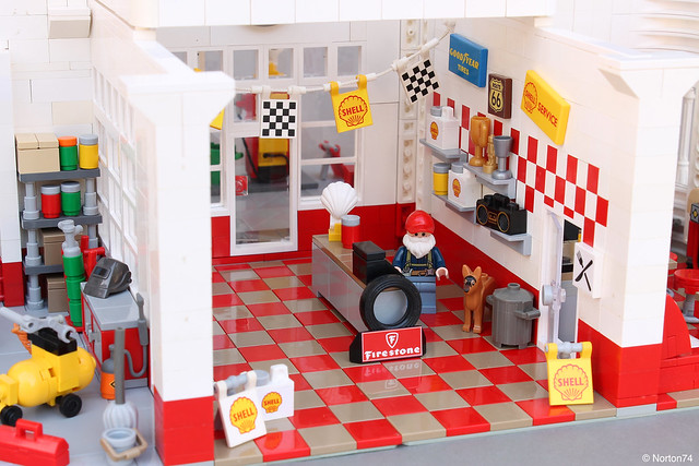 Art Déco Gas Station | the store
