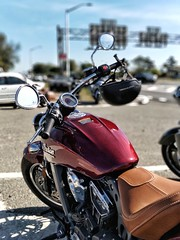 Indian Bike at the 7th annual ride for US soldiers
