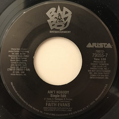 FAITH EVANS:AIN'T NOBODY(LABEL SIDE-A)